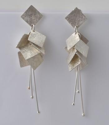 Victoria - Boucles d'Oreilles Argent