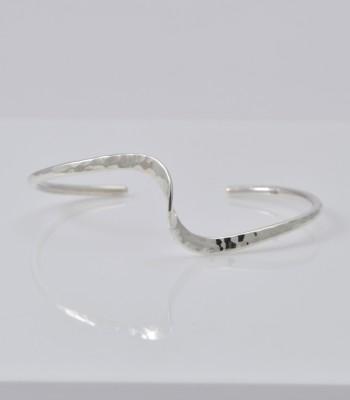 Väg 1 Martelé - Bracelet Argent