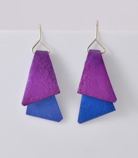Triangles - Boucles d'oreilles fantaisie