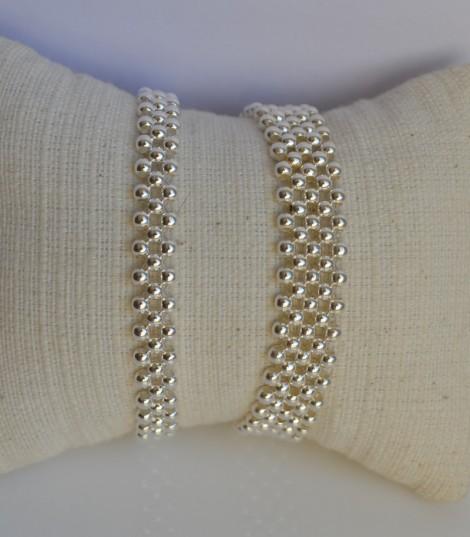 Romy - Bracelet Argent Souple
