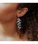 Noémie - Boucles d'oreilles dorées ou argentées