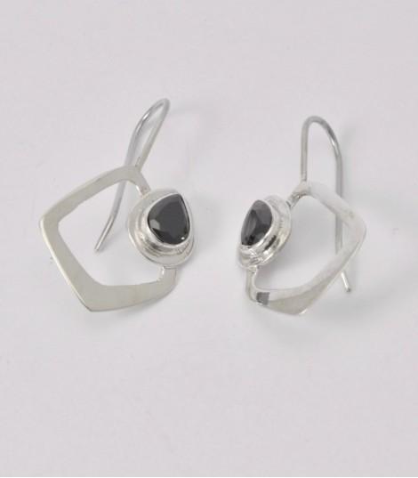 - Boucles d'oreilles Argent