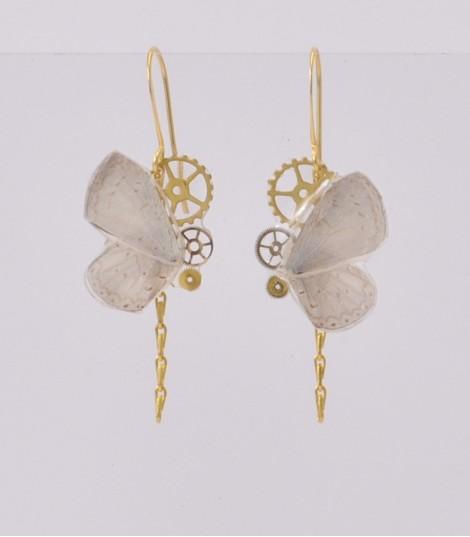- Boucles d'oreilles laiton ou colorées