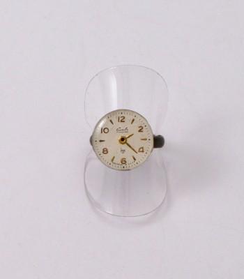 Penny - Bague laiton & cadran montre ancienne