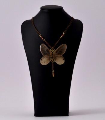 Maëlle - Collier Fantaisie papillon